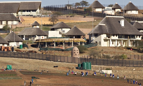 Jacob Zuma's home in South Africa