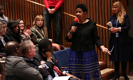 MDG : CSW 58 meeting : UN Women Executive Director Phumzile Mlambo-Ngcuka