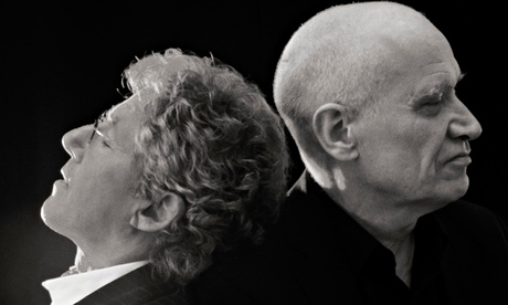 Roger Daltrey and Wilko Johnson