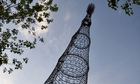 The Shukhov TV Tower in Moscow