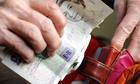 Pensioners money budget