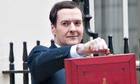 George Osborne Treasury coffers