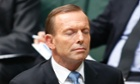 Tony Abbott in question time
