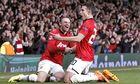 Wayne Rooney, left, and Robin van Persie