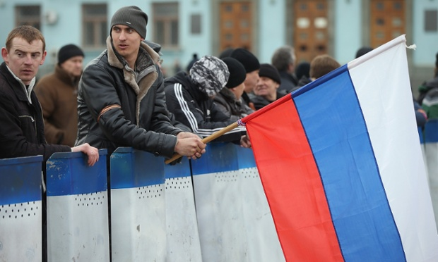 Pro-Russian militants in Ukraine