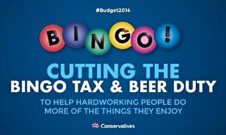 The poster tweeted by Grant Shapps