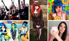 The youth of today: clockwise, metallers, goth, Molly Soda, haul girl and seapunks.