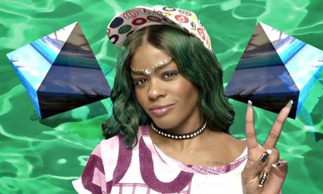 Azealia Banks does seapunk.