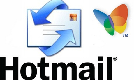 The logo for Microsoft's Hotmail, now replaced with Outlook.com