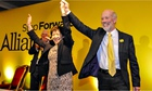 David Ford with Anna Lo at the Alliance Party conference in Belfast