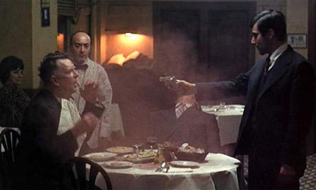 godfather shooting