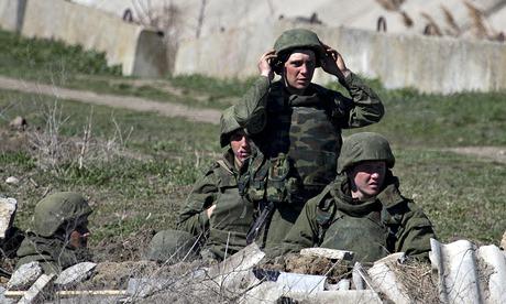 pro-russian soldiers in crimea