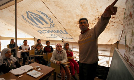 syrian refugees school