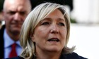 far right FN Marine Le Pen