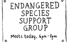 Stephen Collins: endangered species