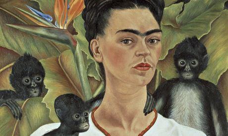 Frida Kahlo's Autoritratto con scimmie (1943)