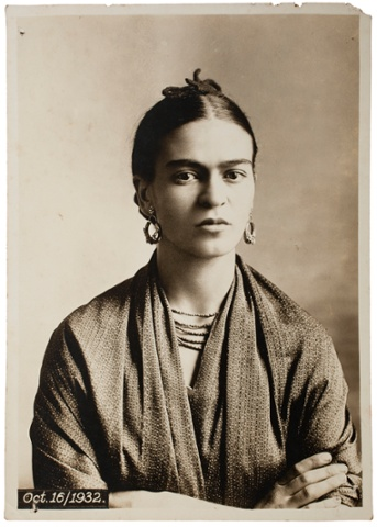 Frida Kahlo by Guillermo Kahlo, 1932.