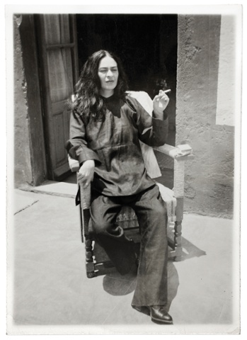 Frida Kahlo After an Operation by Antonio Kahlo, 1946.