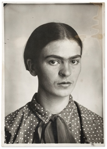 Frida Kahlo by Guillermo Kahlo, 1926.