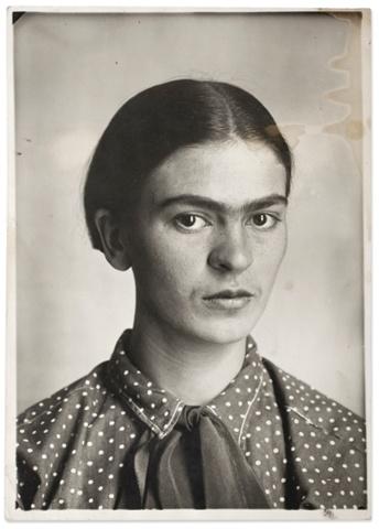 Frida Kahlo by Guillermo Kahlo, 1926.