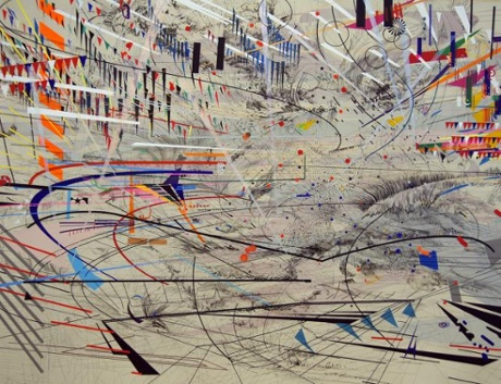 art Julie Mehretu