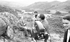 Kenneth Clark filming Civilisation