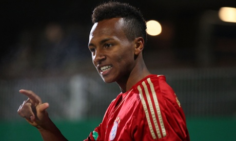 Julian Green of Bayern Munich and soon to be USMNT.