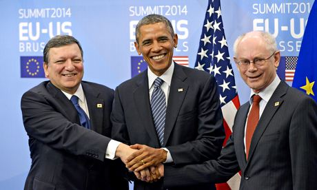 US president Barack Obama at EU summit