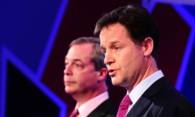 Nigel Farage and Nick Clegg are debating Europe on LBC tonight