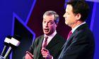 Nigel Farage and Nick Clegg