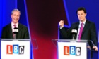 Deputy Prime Minister Nick Clegg and Ukip leader Nigel Farage debate Britain's future in the European Union.