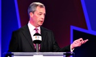 Nigel Farage during the debate on Britain's future in the European Union