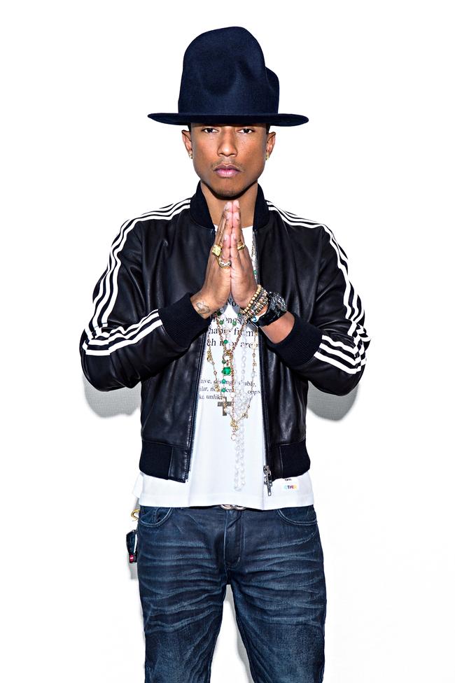 Can pharrell williams make adidas happy fashion the guardian - Pharrell williams design ...