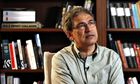 Turkish author and Nobel prize-winner Orhan Pamuk
