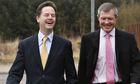 Nick Clegg and Willie Rennie