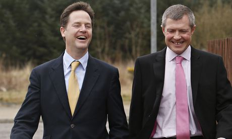 Nick Clegg and Willie Rennie