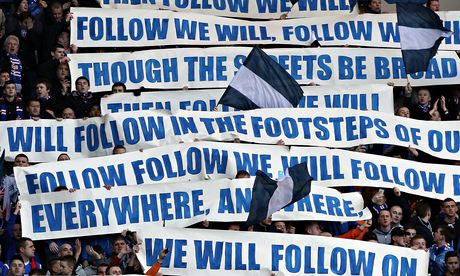 Glasgow Rangers fans