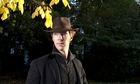 Prince-in-waiting: Benedict Cumberbatch photographed in Stanhope Gardens, London.