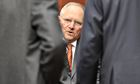 Germany's finance minister Wolfgang Schäuble is keen to get EU treaty changes back on the table