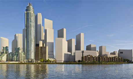 How the view along the Thames from Vauxhall might look