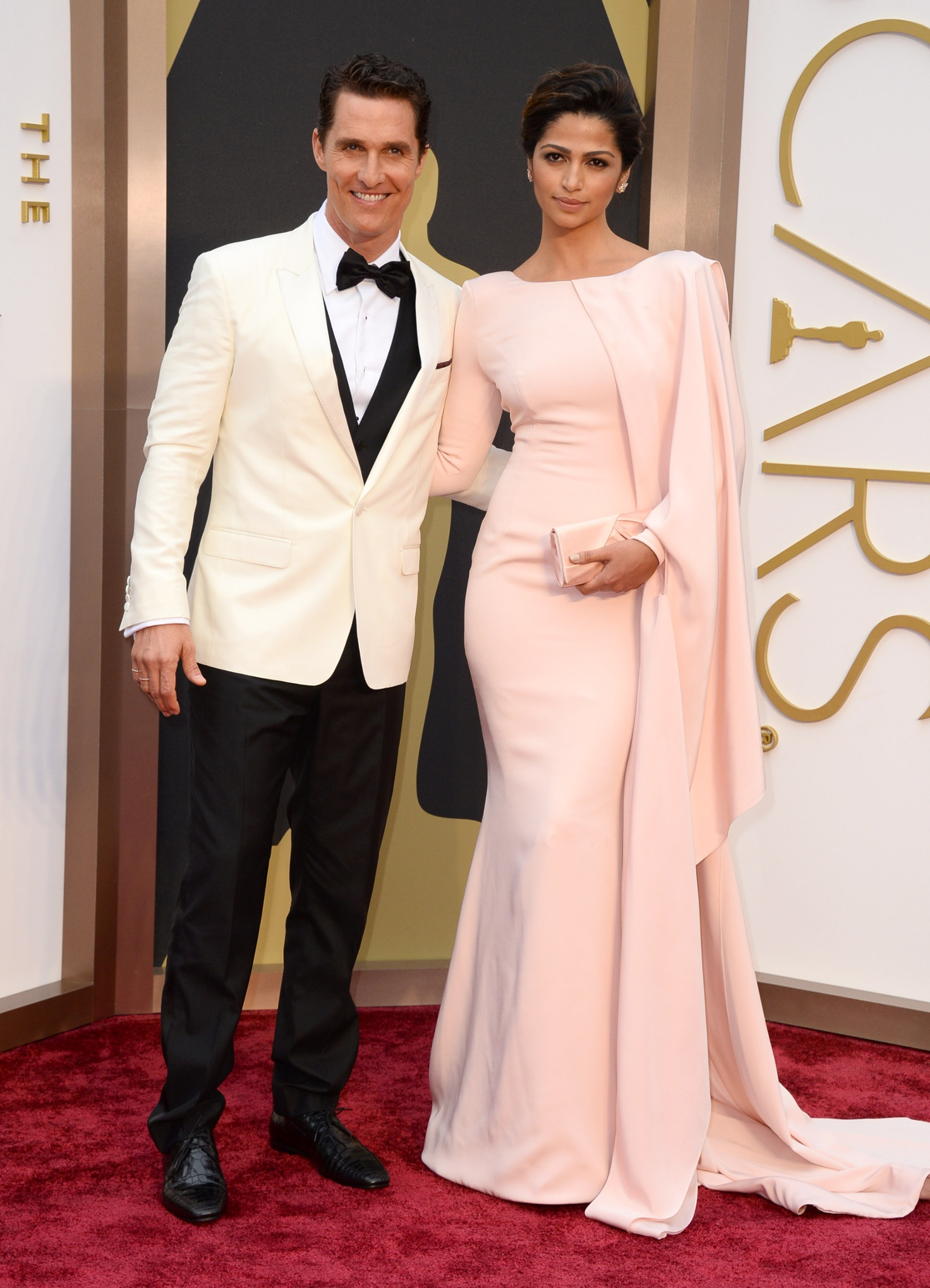 Matthew McConaughey and Camila Alves.