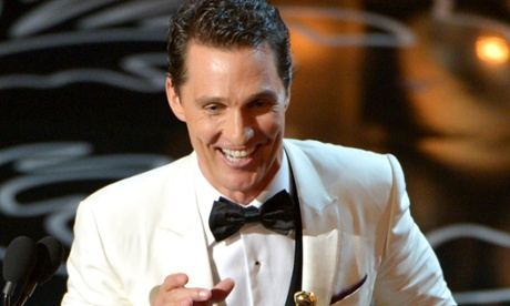 Matthew McConaughey wins the best actor Oscar for his performance in Dallas Buyers Club