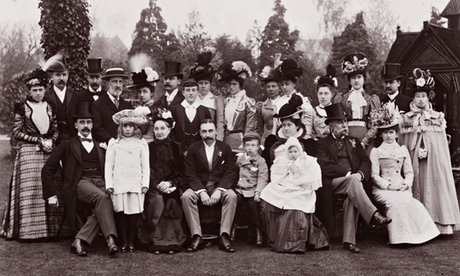 Victorian Family photograph, circa 1890
