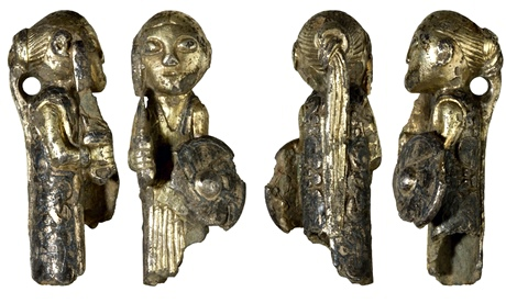 Ninth-century silver valkyrie pendants from Denmark