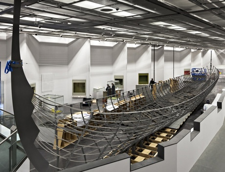 The Roskilde 6 Viking boat