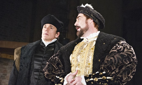 Ben Miles as Thomas Cromwell and Nathaniel Parker as Henry Vlll)