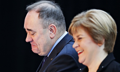 First Minister Alex Salmond and First Minister Nicola Sturgeon