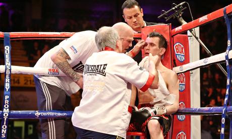 Stuart Hall v Martin Ward IBF Bantamweight Title