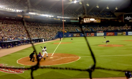 A decade after the Expos left Olympic Stadium, baseball returned to Montreal for two Major League games between the Toronto Blue Jays and