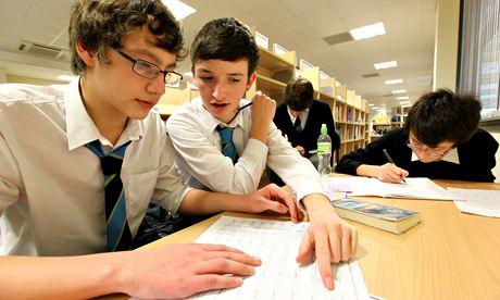 Schoolchildren in Glasgow